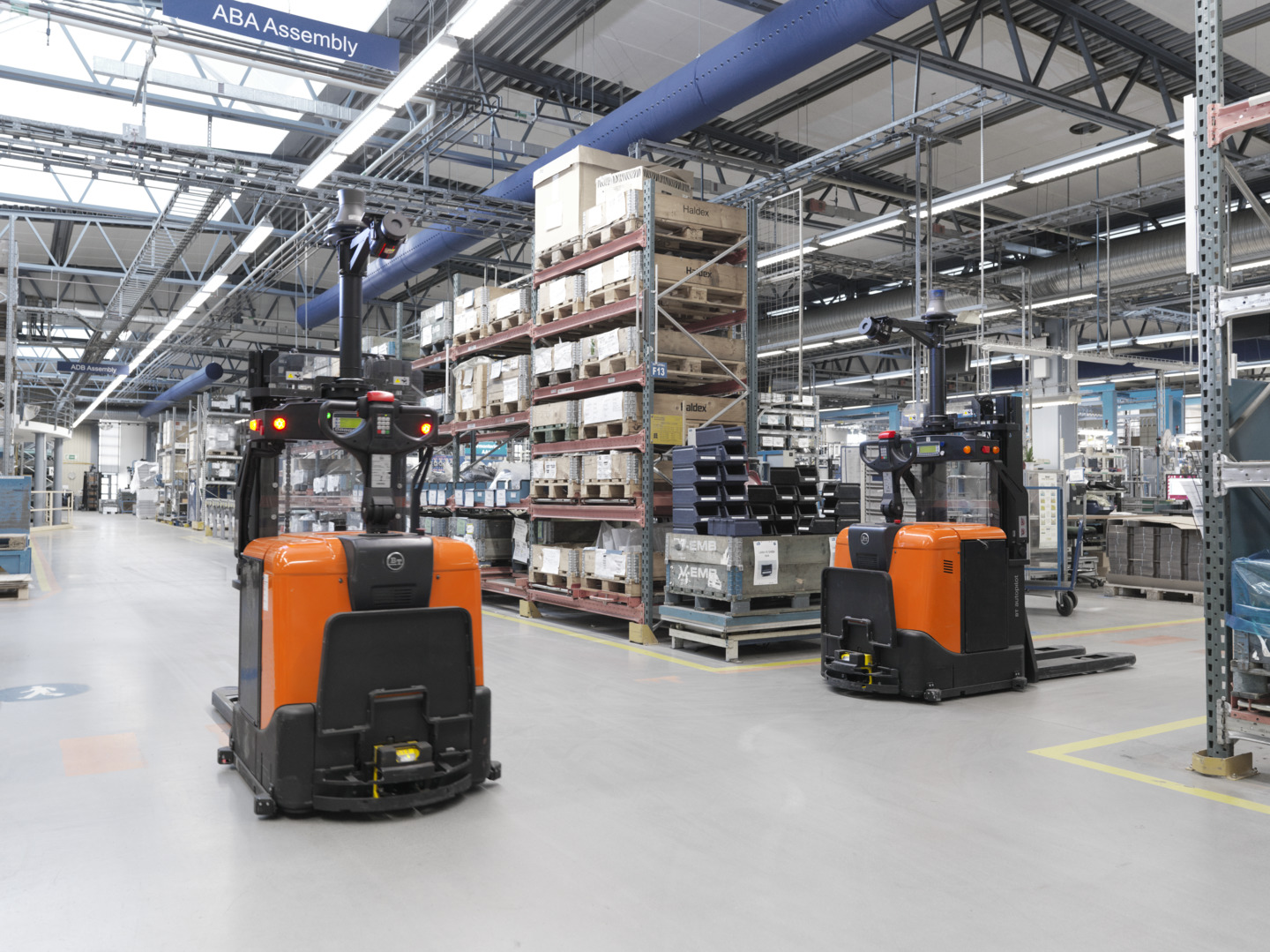 automatisering in material handling